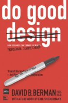 Book cover: Sharpie crosses out the word 'design'