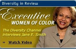 'Executive Women of Colour: The Diversity Channel Interviews Jane E. Smith'