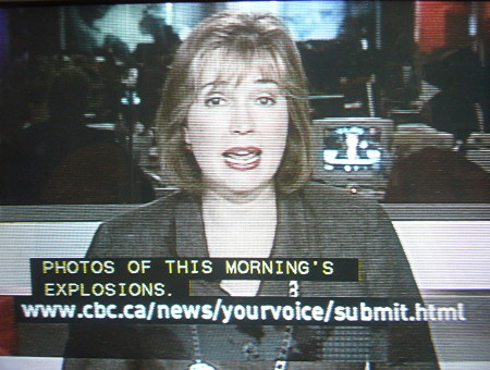 Chyron on screen gives lengthy on URL ending in submit.html