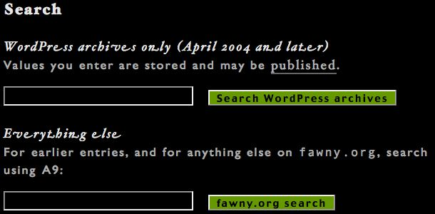 Screenshot of search options shows italic type with swash characters (extended flourishes on ends of letters like e and t)