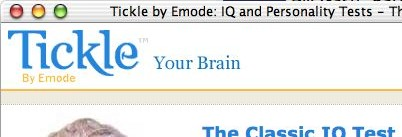 'Tickle Your Brain: The Classic IQ Test'