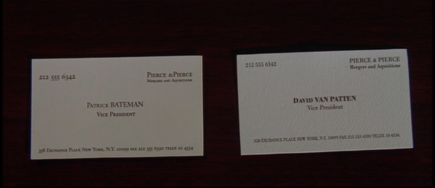 Card with Bodoni type