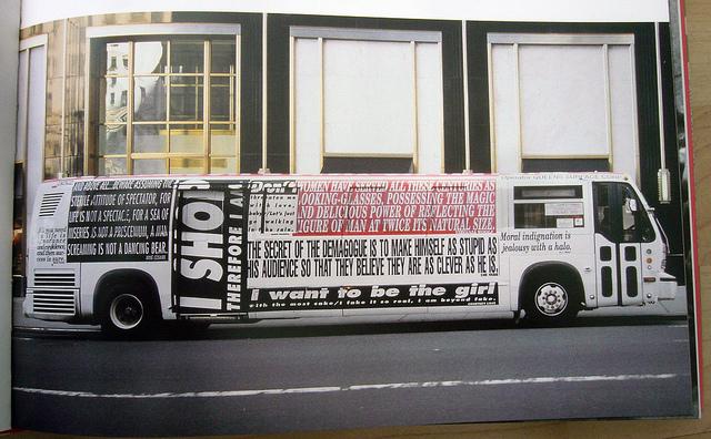 RTS bus festooned with Kruger slogans