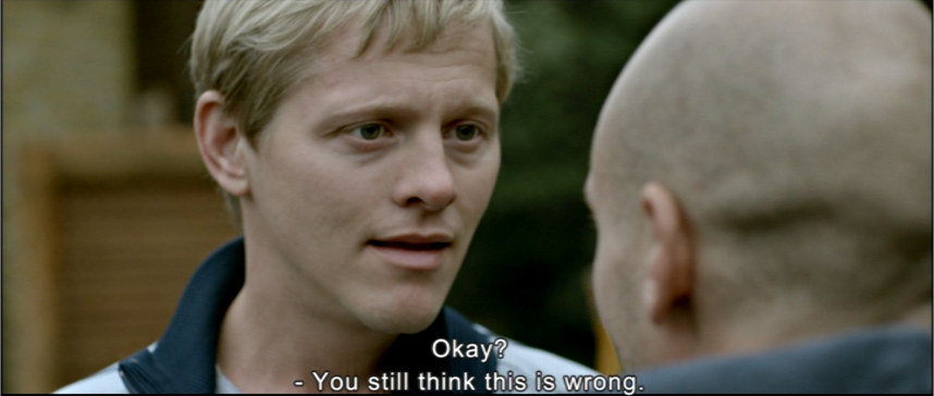 Thure Lindhardt as Lars: You still think this is wrong
