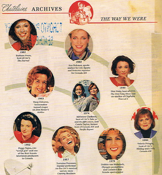 Chatelaine Archives: The Way We Were