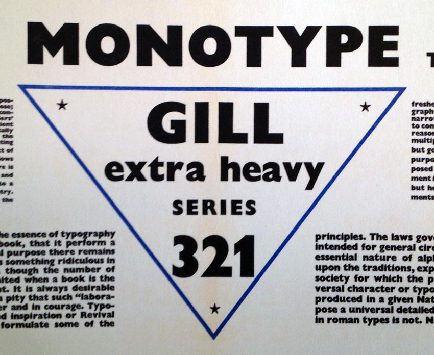 Gill 321 with a 1 that isn't just a vertical line