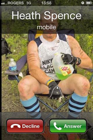 Heath Spence calling iPhone