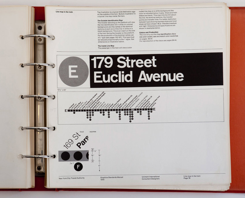 Page showing E train 179 St Euclid Ave signage and line map