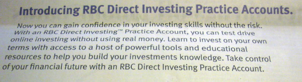 Introducing RBC Direct Investing Practice Accounts