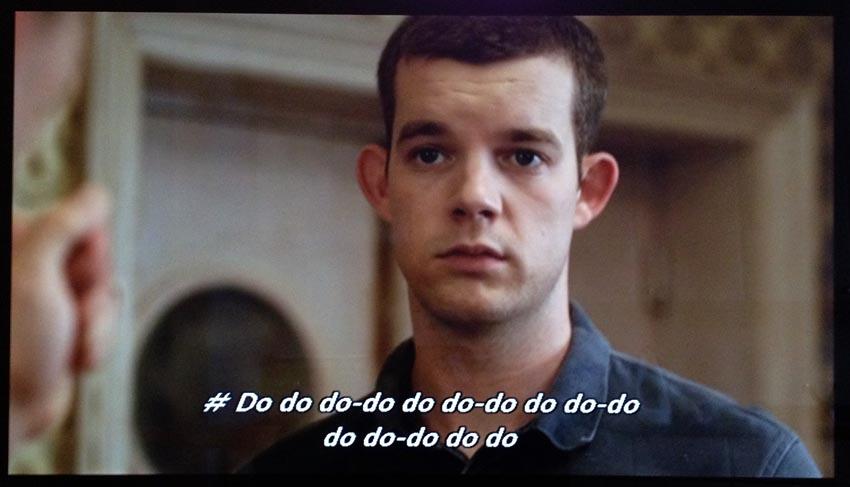 Russell Tovey with caption # Do do do-do do do-do do do-do do do-do do do