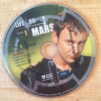 John Simm on 'Life on Mars' DVD with StingRay