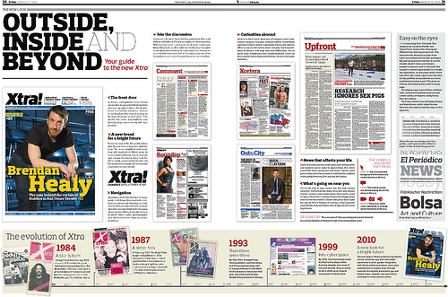 Double-page spread: Your guide to the new 'Xtra'