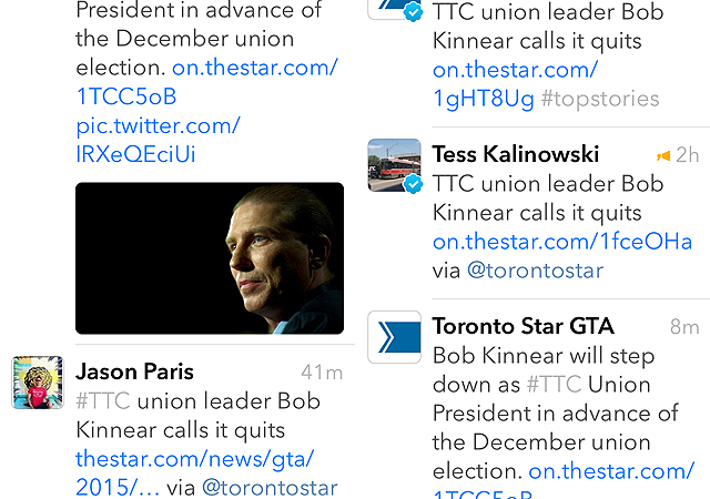 Same article on Twitter with multiple short URLs