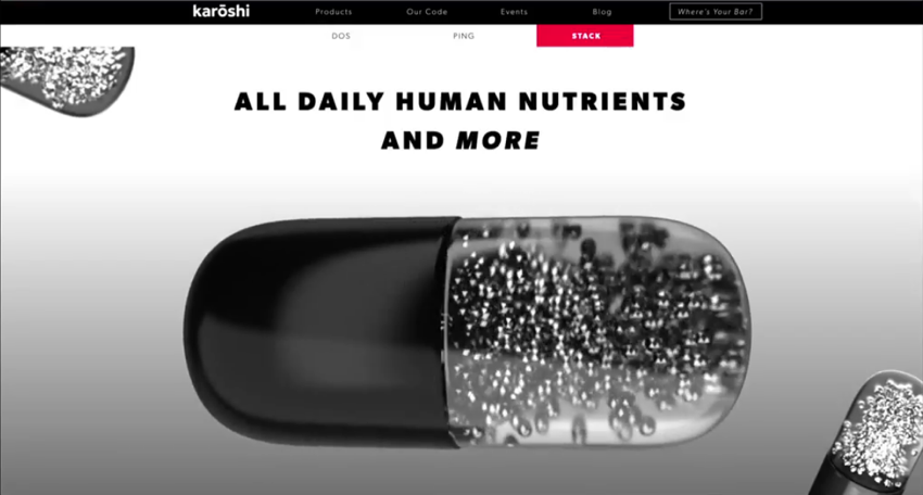 Karōshi: ALL DAILY HUMAN NUTRIENTS AND MORE
