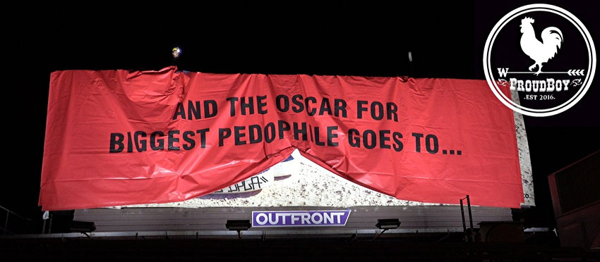 AND THE OSCAR FOR BIGGEST PEDOPHILE GOES TO…